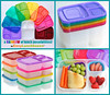 "See more colorful lunches from Cristi of: <a href=""http://www.bentonbetterlunches.com/2013/01/easylunchboxes-brights-classics-rainbow.html"" target=_blank>Bent on Better Lunches</a>"