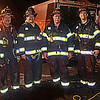 Engine 9 & Ladder 3 firefighters - Tim O'Brien, Quentin Englehart, John Seyfert & Jason Batz