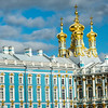 Golden Onion Domes of Palace Chapel, Tsarskoye Selo