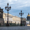 Evening Light on Palace Square, St. Petersburg