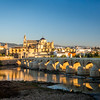 Sunrise on the Guadalquivir and Mezquita, Córdoba, Spain