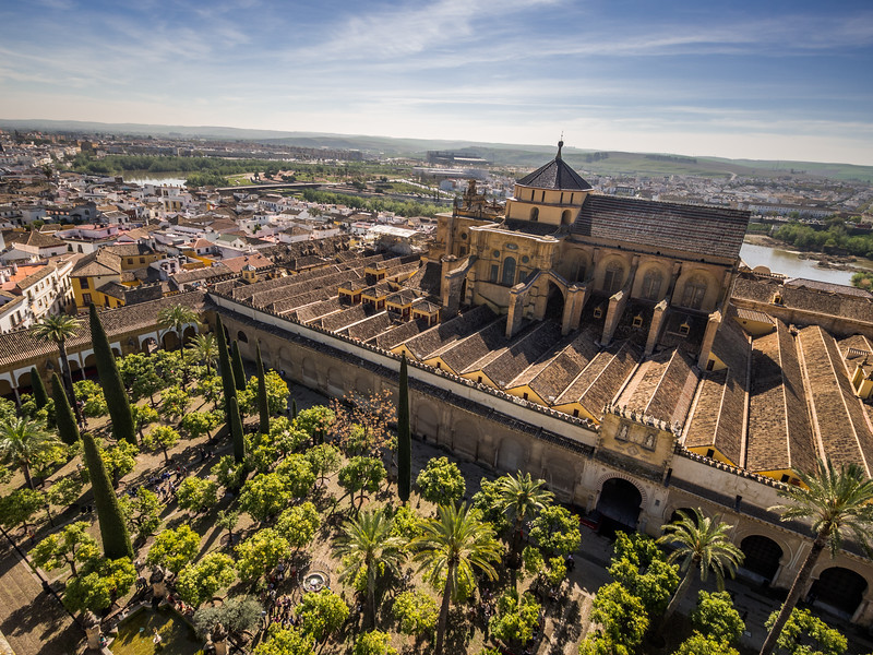 View of the Mezquita from Above, Córdoba, Spain
