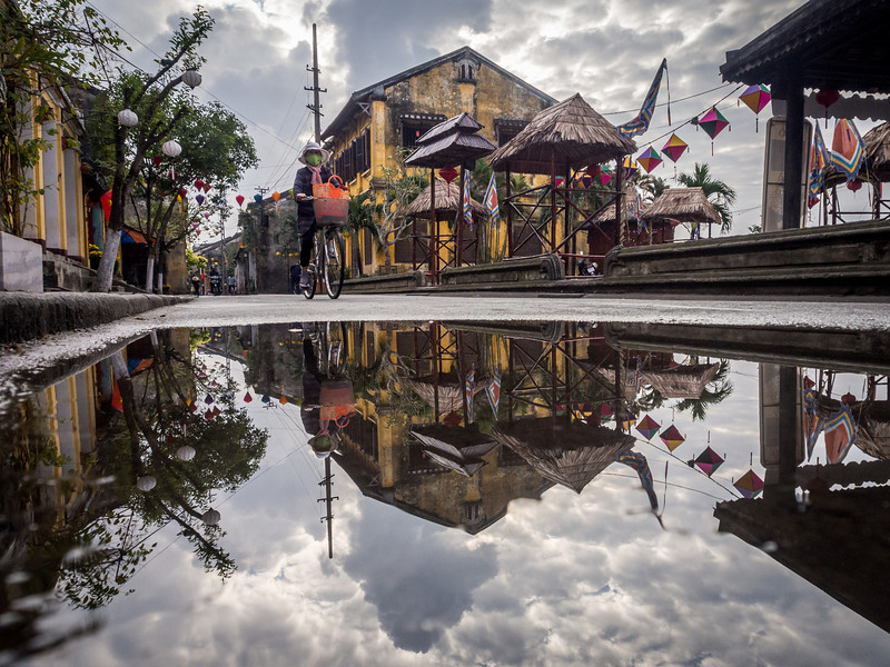 View from the Puddle, Hoi An