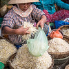 Bean Sprouts at the Market, Hoi An