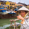 Banana Lady on the Riverfront, Hoi An