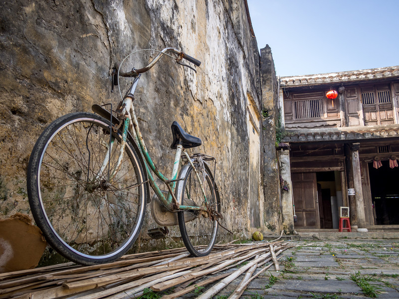 Parked Bicycle, Hoi An