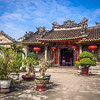 Porch of the Chinese Temple, Hoi An, Vietnam