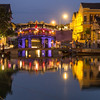 Night on the Japanese Covered Bridge, Hoi An, Vietnam