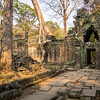 Crumbling Walls of Prah Khan, Angkor