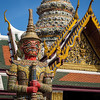 Guardian of the Temples, Grand Palace, Bangkok, Thailand