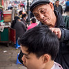 Haircut on the Street, Hanoi