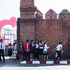 Young Adults at the Old Wall, Chiang Mai
