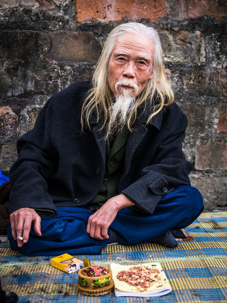 Ancient Caligrapher, Hanoi