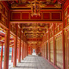 Red and Gold Pathway, Hue