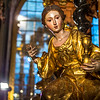 Baroque Figure in the Tabernacle of the Monastery Church of St. Cartuja, Granada