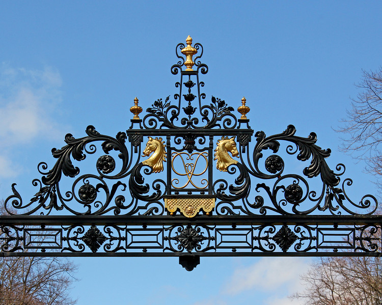 Part of gate at Old Westbury Gardens