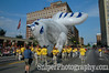 The pegasus balloon floats down Broadway during the Derby Festival Pegasus Parade.