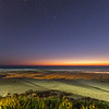 last little rays of sunset and first stars cable beach