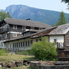 Lake McDonald Lodge in Glacier NP opened its doors on June 14, 1914 and is one of the finest examples of a Swiss Chalet hotel remaining in the United States.