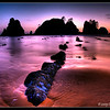 Point of the Arches, in Olympic National Park, is a fantastic pace to watch the sun set. Having a very low tide and a (very rare) mostly clear sky helps...