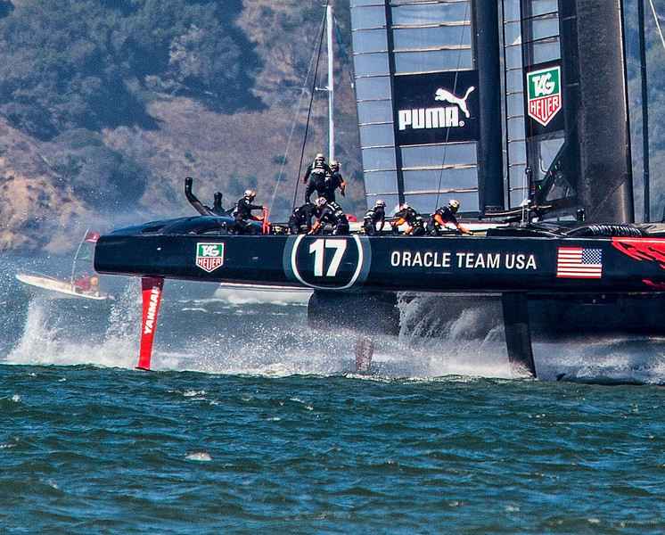 America Cup in SF Bay