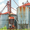 Storage silos in Williston, SC