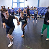 2011, CART students in a master class with choreographer Chase Brock