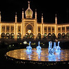 Winter fairy tale at the Tivoli Gardens in Copenhagen, Denmark