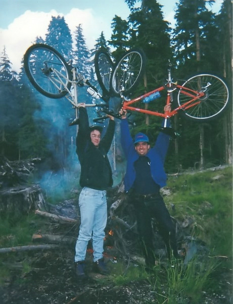Mike Jagla and Tom Vick Near Mt St Helens