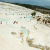 enjoying the pools, Pamukkale