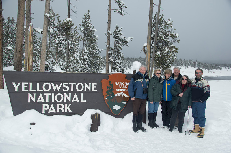 Yellowstone, Chuck & Carolyn, Susan & Bob, Roz & Pete