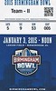 2014 ECU vs UF Birmingham Bowl Game Ticket