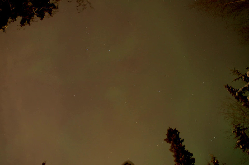 Aurora in the Big Dipper