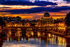 The Vatican from Ponte Sant'Angelo