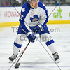 OCTOBER 12, 2014 - TORONTO CANADA - In game two of their 2014-2015 season, AHL Toronto Marlies  battle against the Utica Comets at Ricoh Coliseum  (Photo credit: Christian Bonin/TSGphoto.com)