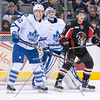 February 16th, 2015 - TORONTO CANADA - The Toronto Marlies  take on the Binghamton Senators  at Air Canada Centre (Photo credit: Christian Bonin/TSGphoto.com)
