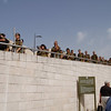 Jerusalem--army trainees (I think). Israelis must serve in the army, men 3 years, women 2 years, from the age of 18.