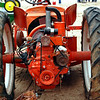 Allis-Chalmers G w deck mower rear