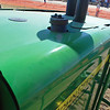 John Deere 2013c R450 windrower rr from cab