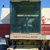 New Holland 1984 TR85 combine interior ft