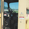 New Holland 1984 1075 Automatic Balewagon interior