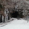LR, BWCNA, Bikeway, Trail, Tunnel, Ice, Winter, Snow