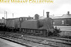 Vintage Irish Republic Railways - Steam in Eire - 1954Ex-GS&WR J11 0-6-0T no. 208 at Cork's Albert Quay station on 11/9/54.