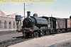 Former L&YR Aspinall designed 0-6-0ST no. 51446 carrying out its usual duties as Crewe Works shunter on 19/9/60.<br> [Gerald T. Robinson / <i>Mke Morant collection</i>]