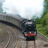 LMS Black Five's No.45407 & 44871 - Westerleigh (The Cathedrals Explorer)