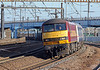 On Monday 29th the 1M16 Inverness, Fort William and Aberdeen sleeper passing Harringay on the ECML
