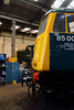 4) 85 006 detail at Barrow Hill on 9th March 2014