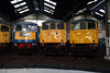 1) 83 012, 81 002 & 85 006 at Barrow Hill on 9th March 2014