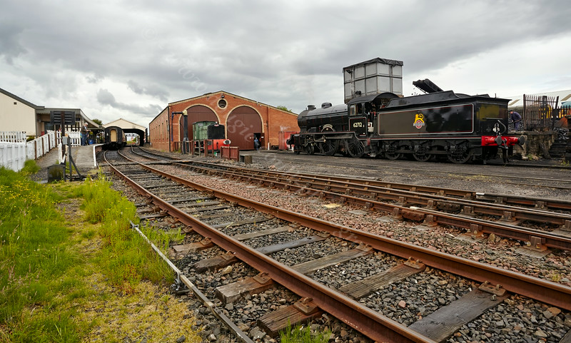 Bo'ness Station - 28 June 2014