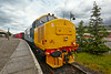 Diesel Locomotive 37401at  Bo'ness Station - 28 June 2014